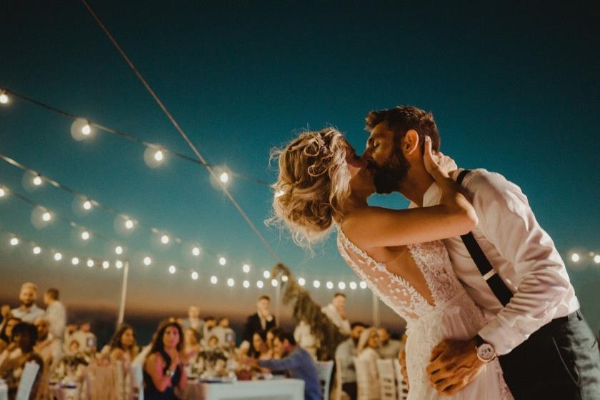 destination wedding  greek island Anafi santorini paros