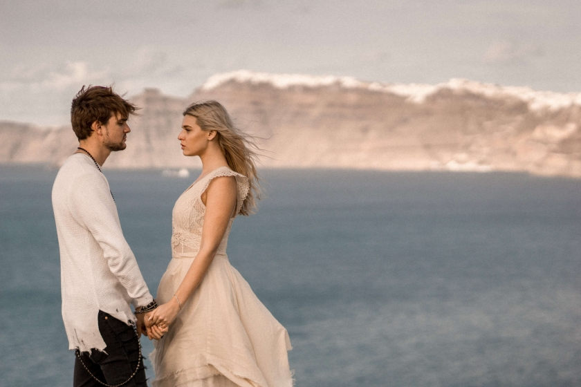 Destination Santorini elopement