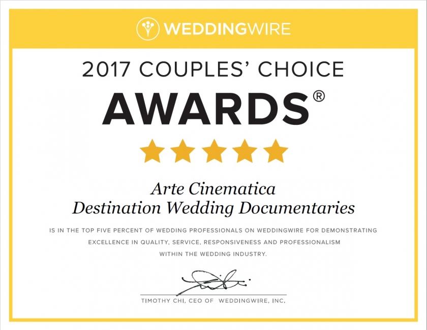 Arte Cinematica Couples' Choice Award